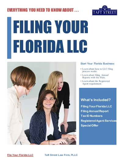 Everything You Need To Know About Filing Your Florida LLC Free Ebook