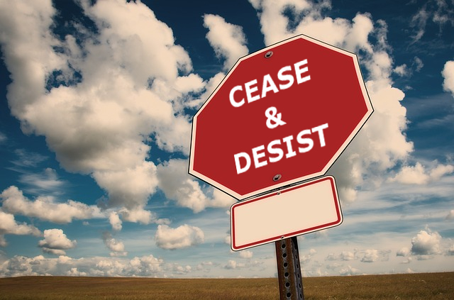 Cease and Desist Letter | Florida Delray Beach Small Business Attorney | 33444 | 33445 | 33448 | 33484 | 33482 | 33483