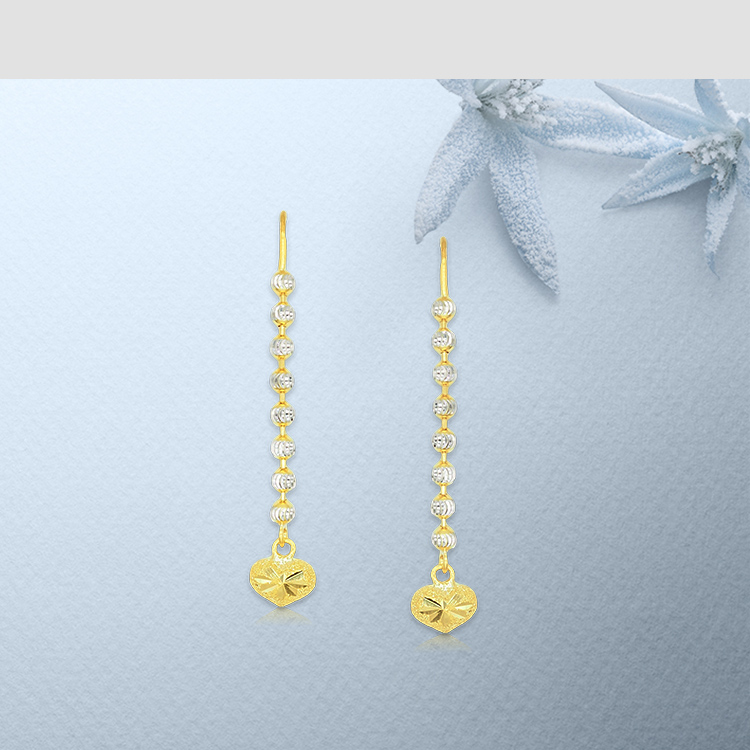 gold jewellery online gold earrings