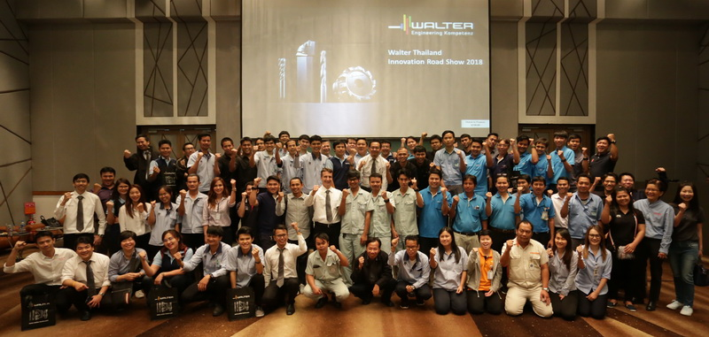 Walter Thailand Innovation Road Show 2018_Group photo - MEGA Tech Magazine
