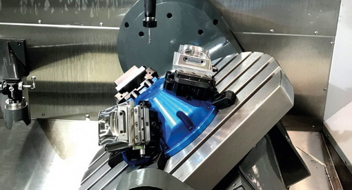 Compact Grip Gerardi idea for 5 axis machining center