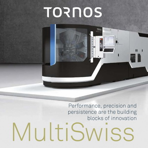 Tornos, MultiSwiss, turning machines, multispindle machines