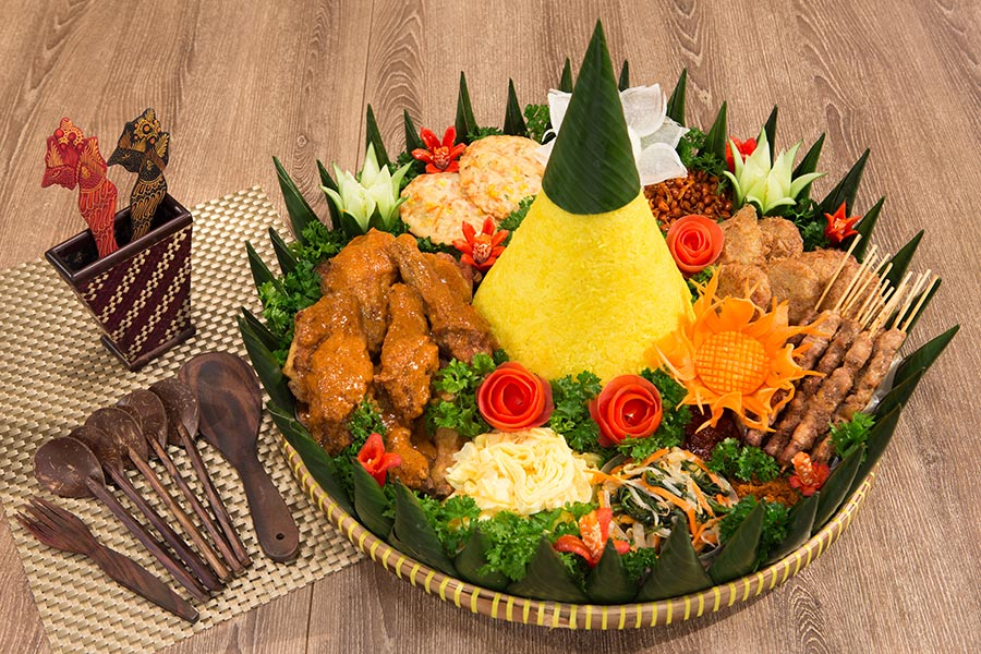 Nasi Tumpeng Indochili Indonesian Restaurant Singapore
