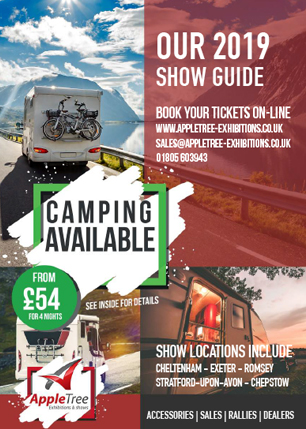 2019 Caravan & Motorhome Shows