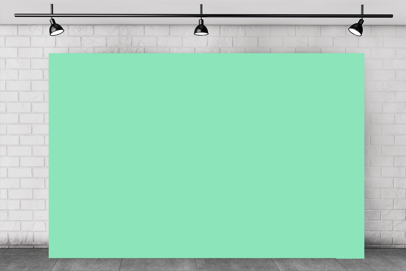 MINT GREEN BACKDROP