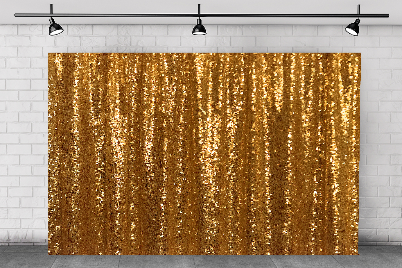 SPARK GOLD BACKDROP