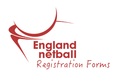 England Netball Registration Forms