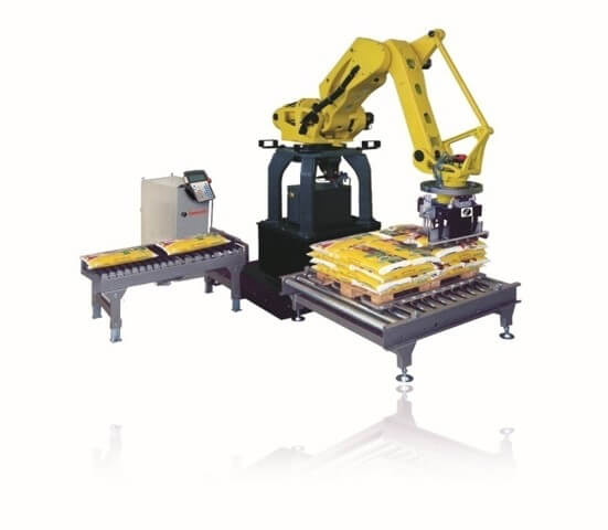 Robot palletizing​