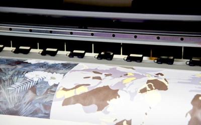 Digital fabric printing Reactive , Pigment printing For