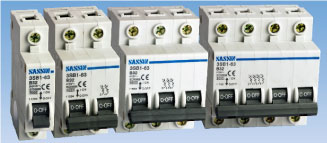 MINIATURE CIRCUIT BREAKER (3SB1-63N, 3SB1-63 new design)​ เบรกเกอร์