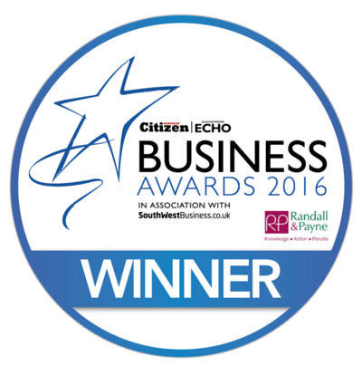 2016 Finalist Gloucestershire Business Awards