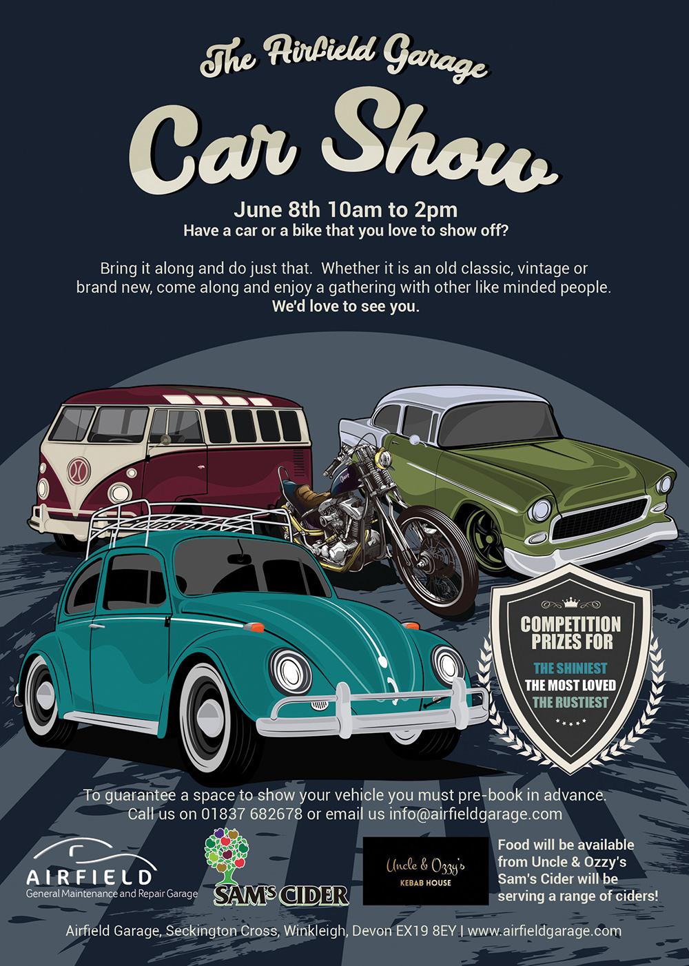 Airfield Car Show 8th June
