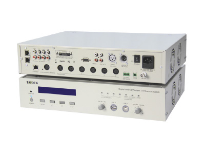 HCS-5300MA/80 Digital Infrared Wireless Conference System Main Unit