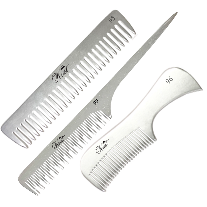Non-Bending Professional Combs