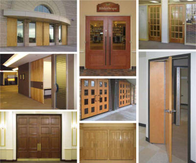 Stained Wood Doors Leominster Massachusetts