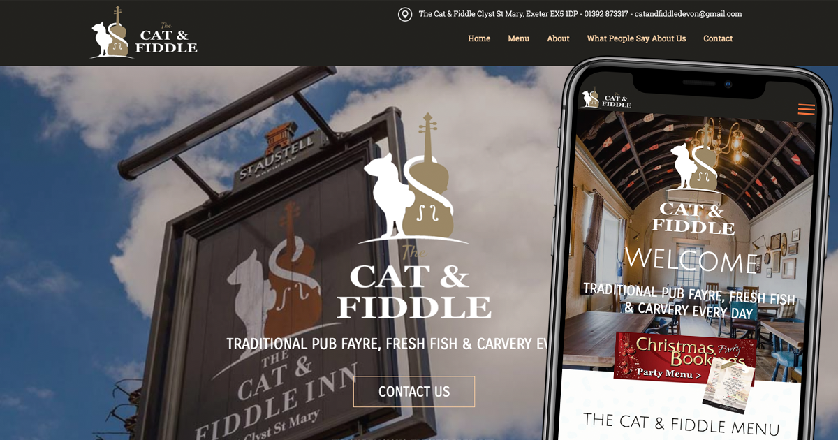 The Cat and Fiddle | Clyst St Mary