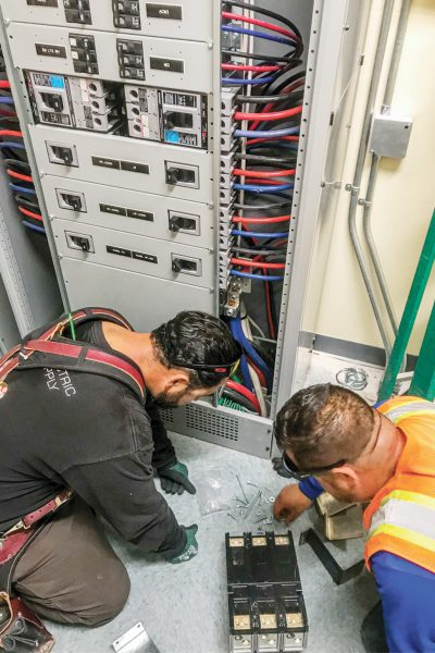electrician california