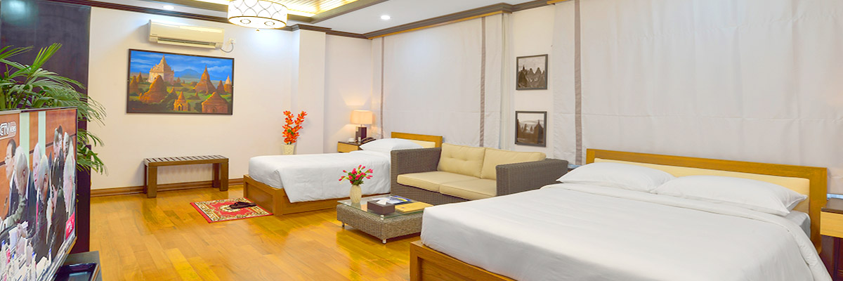 Spacious 3 star hotel in Bagan