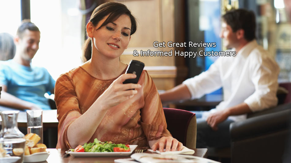 Social media and websites for restaurants