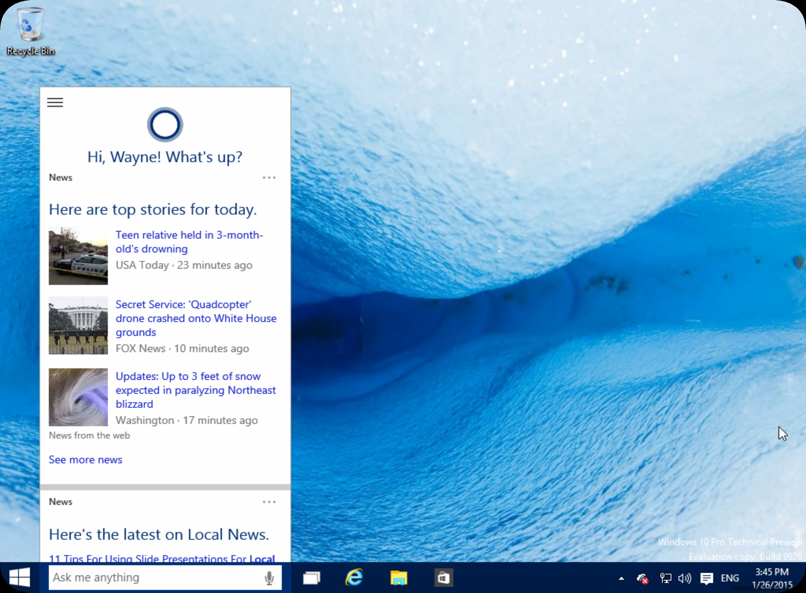 Cortana | Institution Marketing Doncaster