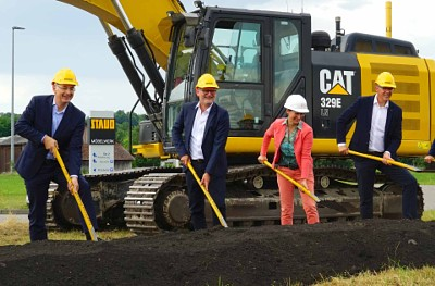 Groundbreakting ceremony for new Staud production facilities