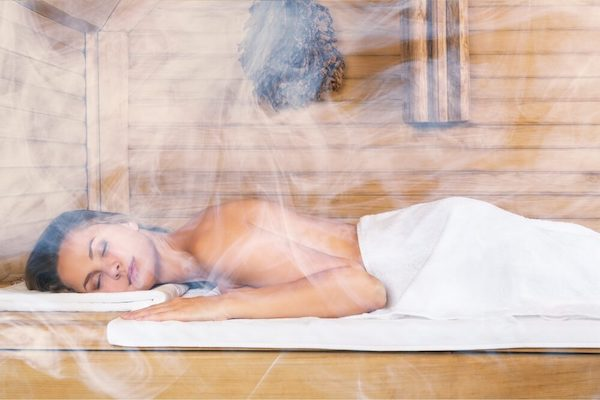 health relax sauna steam room therapy