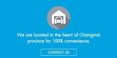 We are location in the heart of chiangmai province for 100% convenience