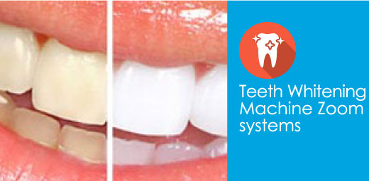 Teeth often yellow by naturally aging or discoloration can occur through diet, smoking or medication.