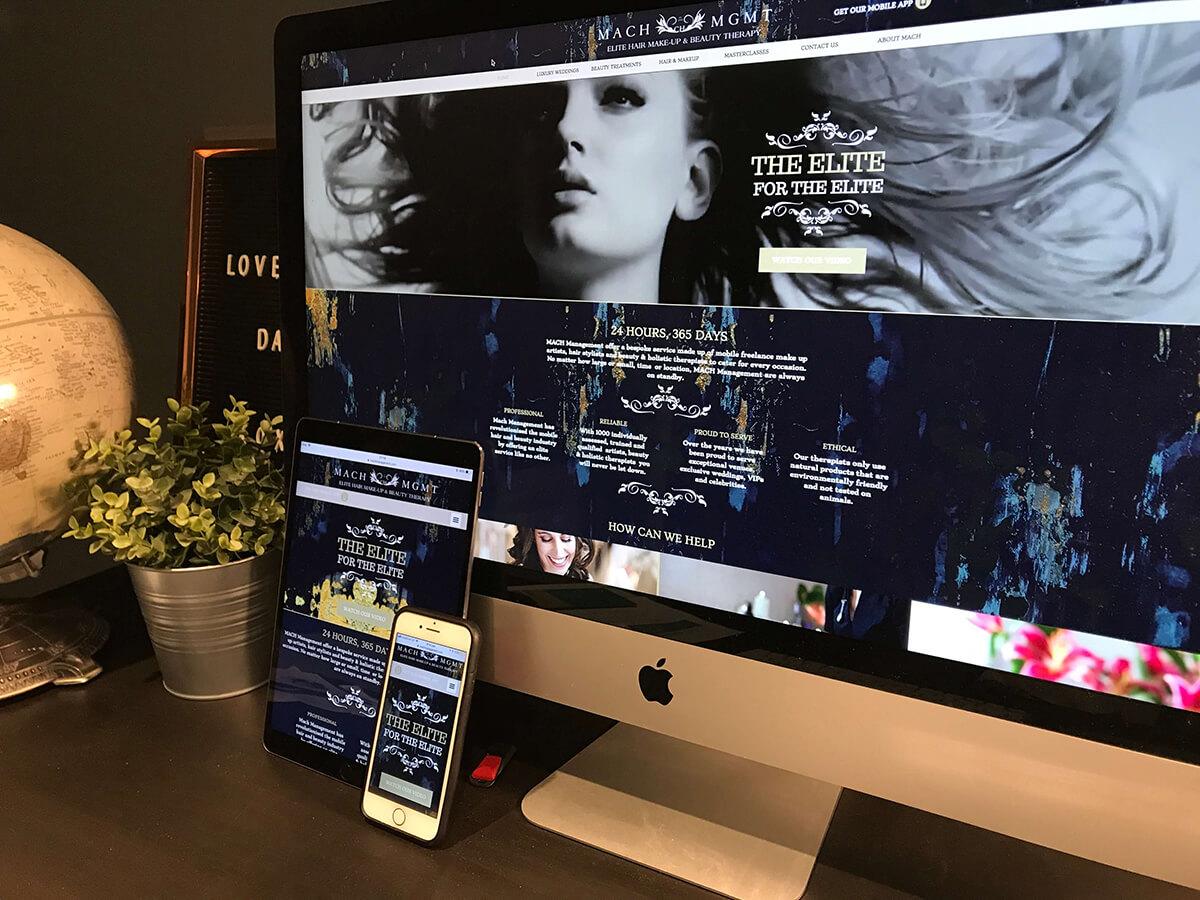 Website Design Seo And Marketing Gloucester For Mach Management # Designe De Support De Television