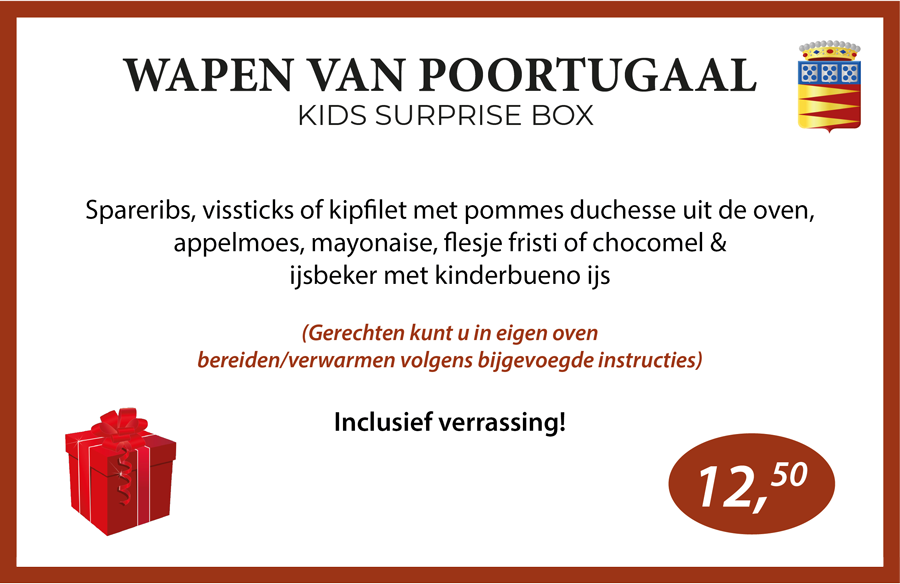 Wapen van Poortugaal Kids Surprise box