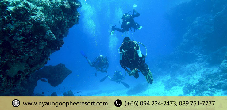 Scuba Diving : A way to explore Sights of Underwater World​