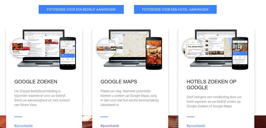Google street view fotograaf limburg virtuele digital for Huis zichtbaar maken google streetview