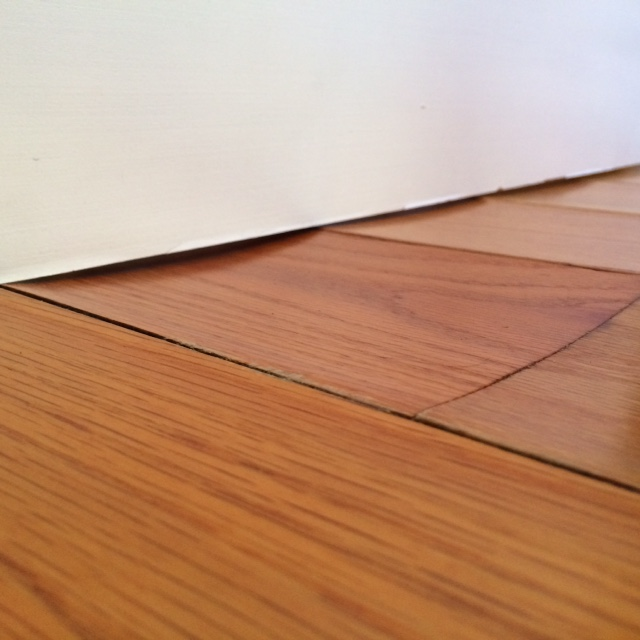 Water on wood floor warping gurus floor for Hardwood floors cupping