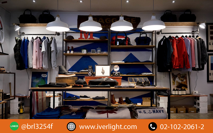 Lighting Fixture for a Walk-In Closet