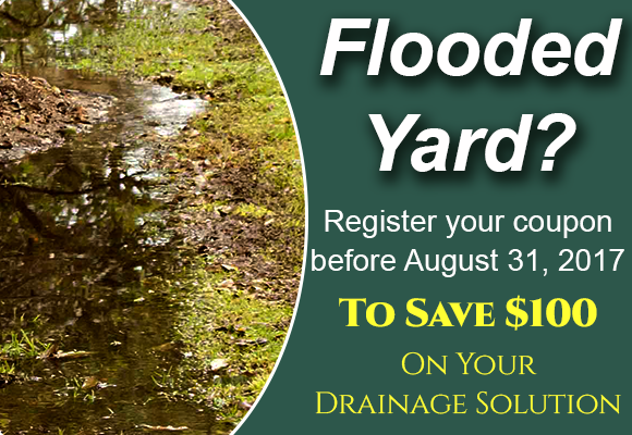 Landscape Drainage Coupon
