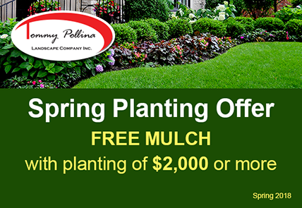 Spring Planting Coupon Includes Free Mulch  with purchase of $2,000
