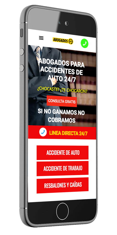 Website design and online marketing for law firms in Spanish