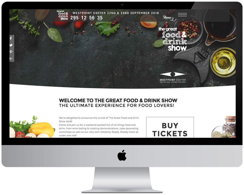 The Great Food & Drink Show - by GFIVEDESIGN