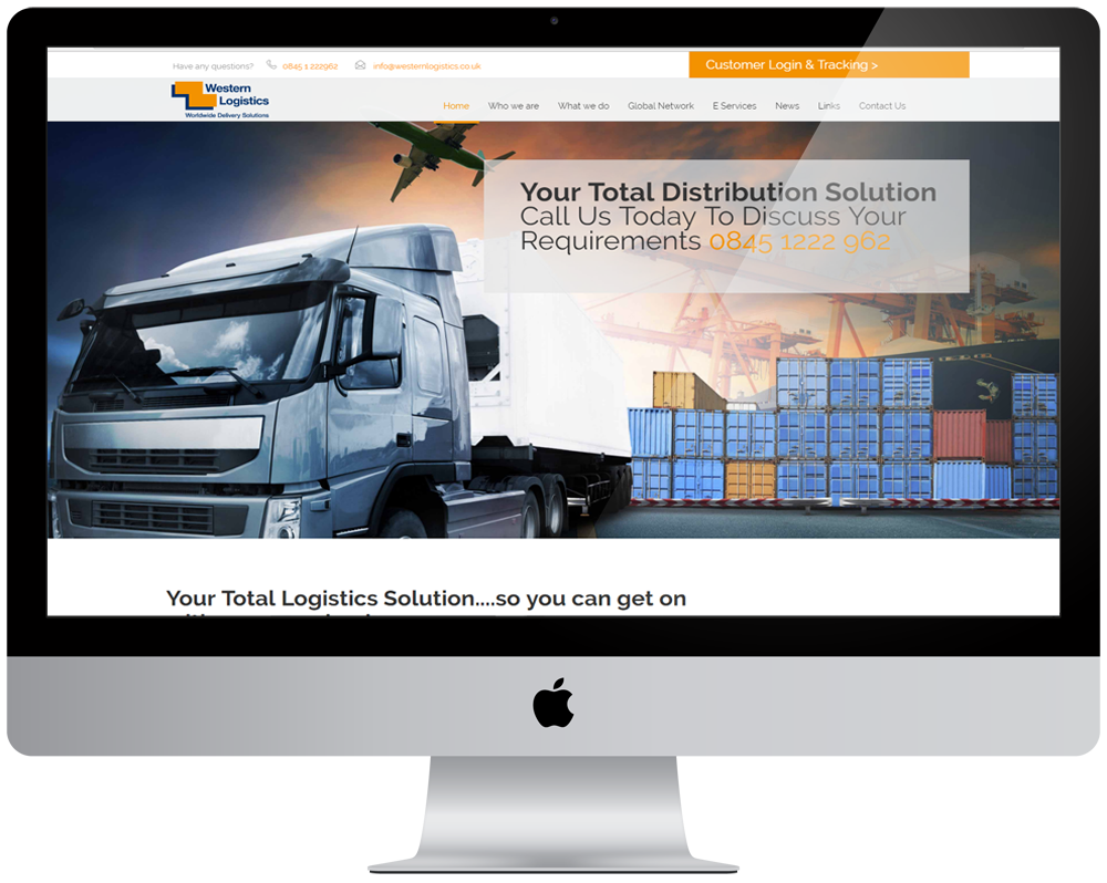 Western Logistic Responsive Website