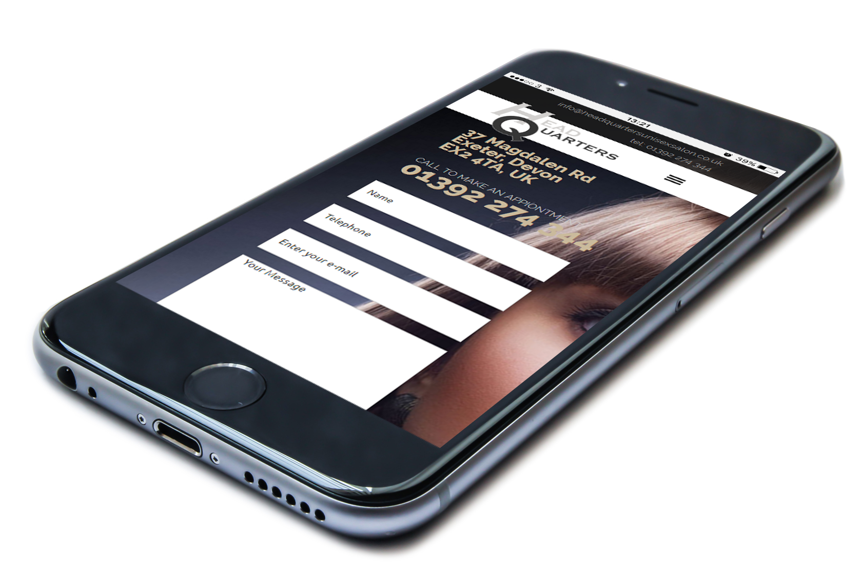 Head Quarters Mobile Responsive