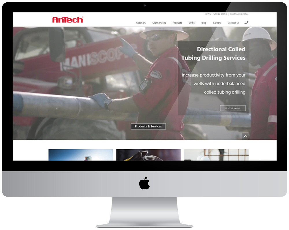 AnTech Responsive Website