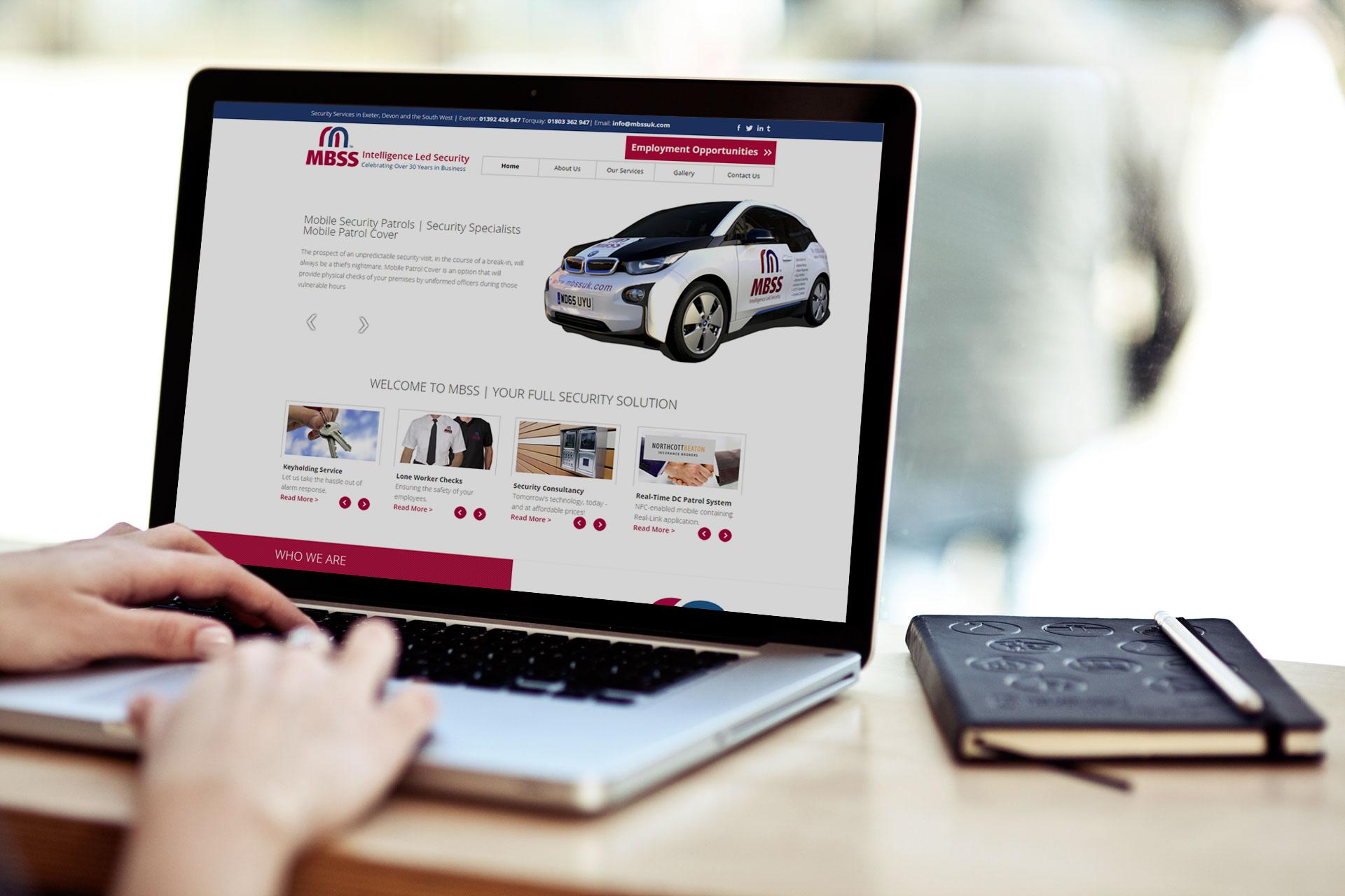 Website Design in Exeter Devon | GFIVEDESIGN