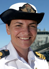 Lieutenant Commander Kelly Haywood