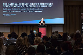 The women's police, defence and emergency services summit