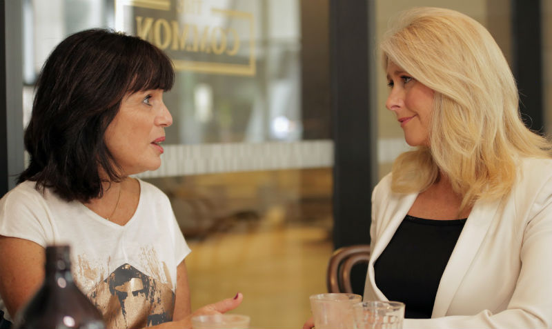 Suzi Finkelstein, Women & Leadership Australia Program Director, talks with Tracey Spicer