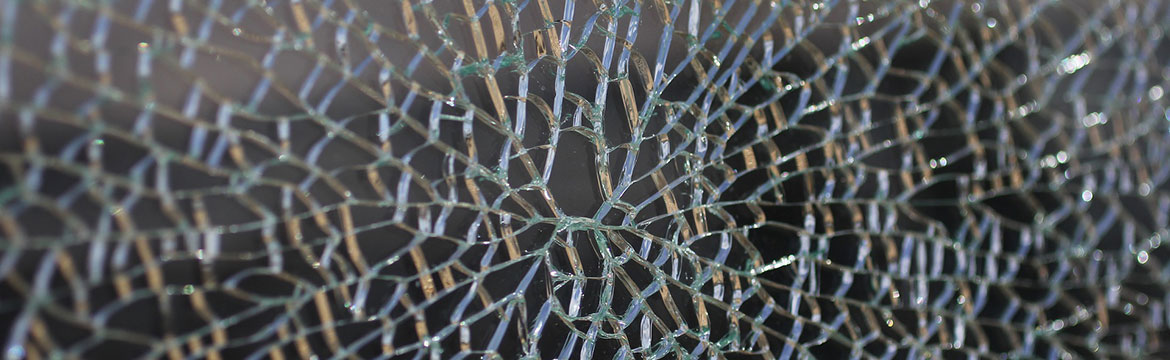 Picture of a fractured window