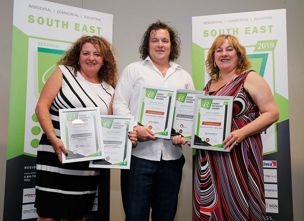 Energy Efficiency Awards Insulated Homes