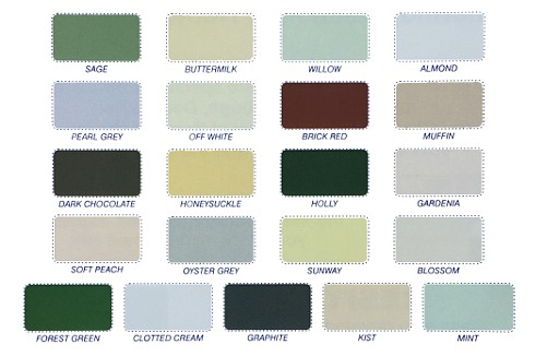 Resitex Colour Chart