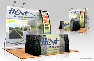 Trade show booth design imaging and messaging by Douglas USA