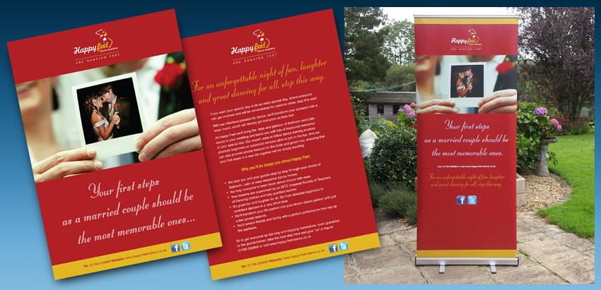 Leaflet Design, Copywriting, low cost quality litho print